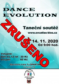 Dance Evolution 2020 - ZRUŠENO